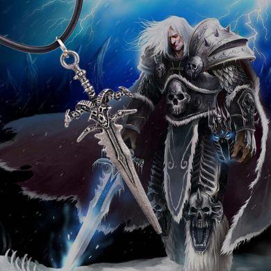 WOW / World Of Warcraft - náhrdelník Arthas Frostmourne