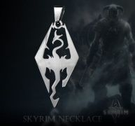 The Elder Scrolls V Skyrim náhrdelník (ocel)